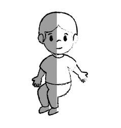Little boy avatar icon vector