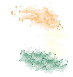 Isolated indian flag vector