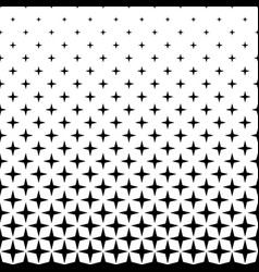 monochrome star pattern - abstract background vector image vector image