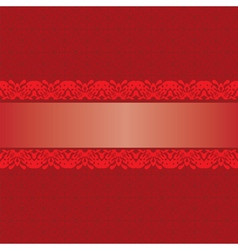 seamless red background vector image vector image