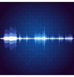 Sound wave vector image