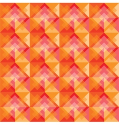 Warm square background pattern vector image