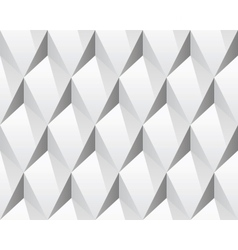 White 3d abstract seamless texture vector image