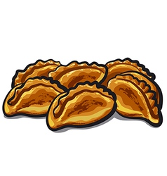 Fresh pastries vector