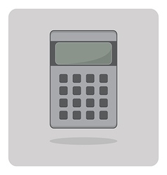 Flat icon calculator vector