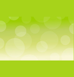 Abstract background with green light vector