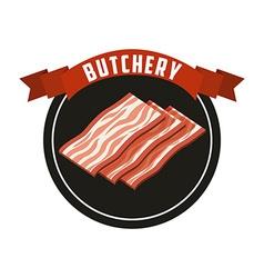Butchery house vector