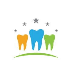 Dental logo template icon vector
