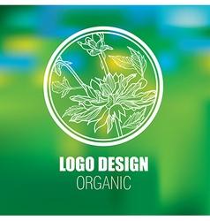 Floral logo new 1 vector