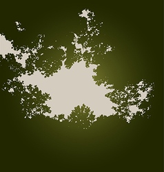 Tree Hole vector image vector image