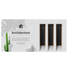 Elements of architecture window background 9 vector