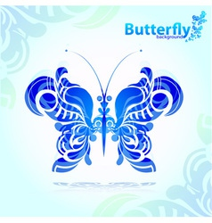 abstract decorative butterfly vector image