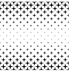 Black and white star pattern - abstract vector