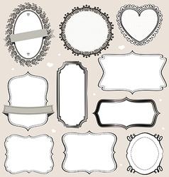 framescoll vector image vector image
