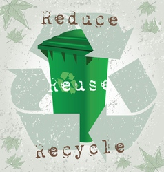 Recycling Concept vector image