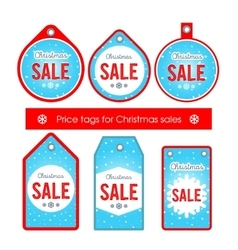 Set creative tags and stickers with vector image vector image
