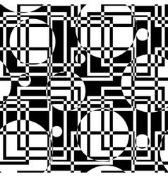 Geometric circles seamless pattern vector