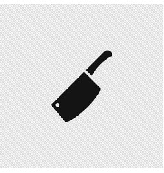 chef knife icon simple vector image vector image