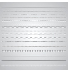 Page dividers 0801 vector