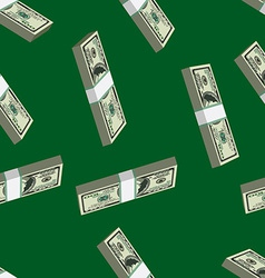 pattern dollars seamless vector image