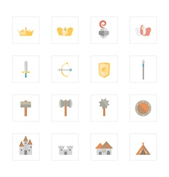 Icon throne vector