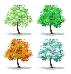 Set of abstract tree vector