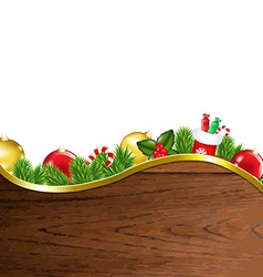 Happy Xmas Border vector image