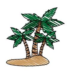 Island icon image vector