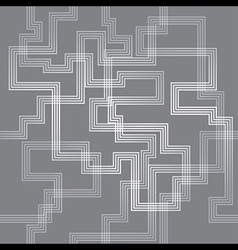 Maze Line Seamless Pattern Background vector image