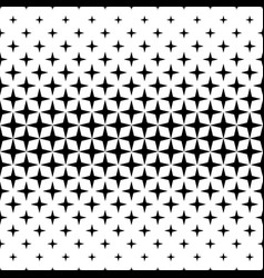 monochrome star pattern - background vector image vector image