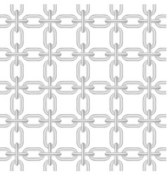 net of chain in light design vector image vector image
