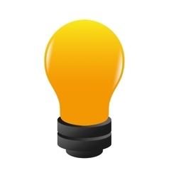 Bulb bright electricity vector