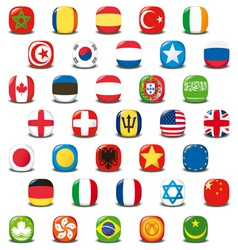 World icons vector