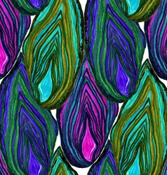 Agate close up pattern vector image