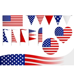 United States Of America Insignia vector image