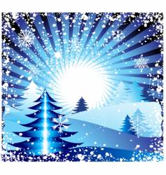 winter background for your design vector image vector image