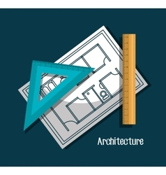 Architecture project design vector