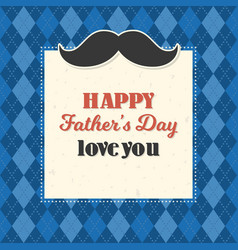 happy father day typography vector image vector image