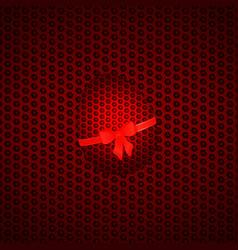 easter honeycomb egg background vector image
