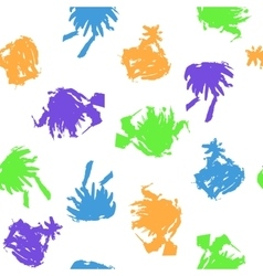Colorful blots on white background vector