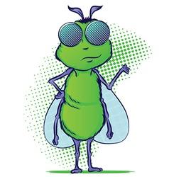 Bug Cartoon vector image vector image