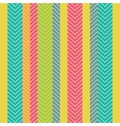 Seamless geometric pattern with zig zag vector