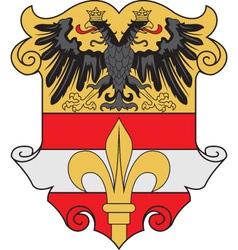 Trieste City vector image