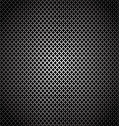 diamond silver grill background vector image vector image