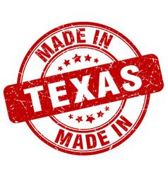 Made in texas vector