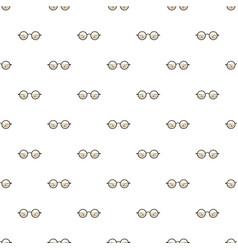 Glasses pattern vector