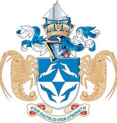 Tristan da Cunha vector image vector image