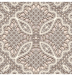 Old lace pattern vector