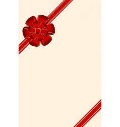Silk ribbon vector