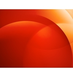 Orange smooth twist light bright wave lines vector